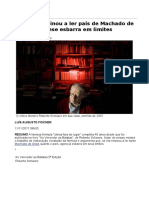 Schwarz Ensinou a Ler País de Machado de Assis, Mas Tese Esbarra Em Limites - 11-11-2017 - Ilustríssima - Folha de S
