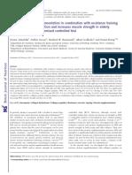 Zdzieblik D, et al. Collagen Peptide Study