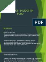 Residuos Solidos en Puno