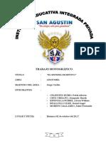 Trabajo Monográfico EL SISTEMA DIGESTIVO