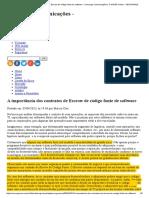 A Importância Dos Contratos de Escrow de Código Fonte de Software - Converge Comunicações _ TI INSIDE Online - SEGURANÇA
