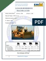 Rendimiento Tractor-Maquinaria y Equipo