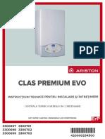 Manual Ariston Clas Premium Evo