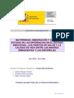 Maternidad, Inmigración y Salud Estudio 2003 2006_10
