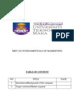 MKT Assignment (ZAI_reen Pengantin & Spa)