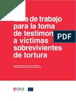 Guia Para La Toma de Testimonios a Victimas de Tortura