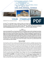 Italy and Greece Trip 2018 PDF
