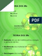 Reciclagem - 3 R's