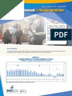 Boletin Estadistico Del Sector Servicios n 10 Octubre 2017