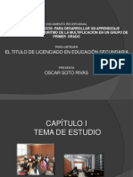 Diapositivas Del Documento Recepcional MATEMATICAS