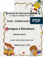 PCA Lengua