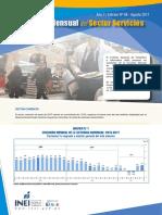 Boletin Estadistico Del Sector Servicios n 08 Agosto 2017
