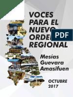 Voces Para El Nuevo Orden Regional