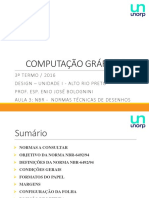 AULA 3 - NBR -  NORMAS TÉCNICAS DE DESENHOS.pptx