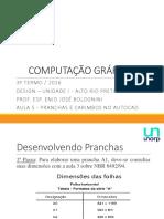 AULA 5 - PRANCHAS E CARIMBOS NO AUTOCAD.pptx