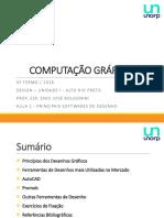 Aula 2 - Principais Softwares de Desenho
