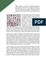El Término Cultura Mixteca Designa a Una Cultura Arqueológica Prehispánica