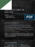 Maquinaria para el concreto.pptx