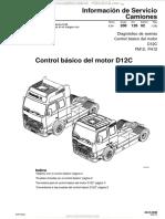 Material Control Basico Motor d12c Volvo
