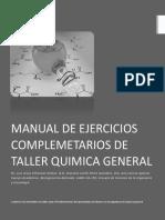 Manual de Actividades de Taller de Quimica 2017 1