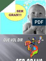PAS D'INFANTIL A PRIMÀRIA