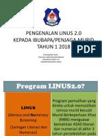 Pengenalan Linus Untuk Ibubapapenjaga 2018