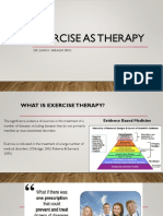 Exercise as Therapy [Autosaved].pptx