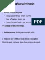 Clase 1.4 Estudio de Precipitaciones 2 2013