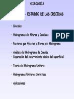 Clase 2.5 Estudio de Las Crecidas HU 2013