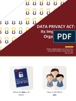Data Privacy Act Its Impact on the Organization
