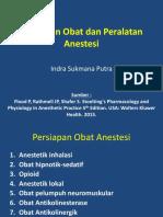 Persiapan Obat Dan Peralatan Anestesi
