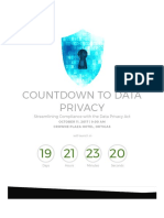 Streamlining Compliance With the Data Privacy Act Event
