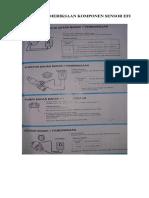 Prosedur Pemeriksaan Komponen Sensor Efi
