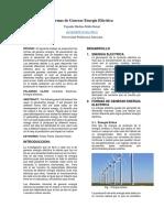 Formas de Generar Energía Eléctrica