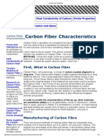 Carbon Fiber Properties