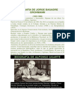 Biografía de Jorge Basadre Grohmann