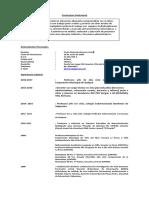 Currículum Vitae Profesional 2017 PAOLA
