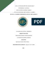 Analisis Del Sector 2-Empresa
