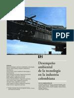 Desempeño ambiental de la tecnología en la industria colombiana - IDEAM - 1999.pdf