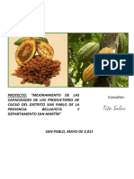 Cacao Proyecto
