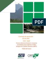 Etapa de planificación y preparación para la elaboración del Plan Integral de Cambio Climático (PICC) para el Valle del Cauca