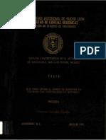 Estudio Etnobotánico en El Municipio de Matehuala, San Luis Potosí, México [Por] Onésimo González Costilla