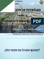 Tema III.1. Proceso de Refinación de Petróleo