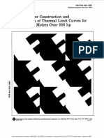 IEEE Guide for Construction and Interpretation of Thermal Limit Curves for Squirrel-Cage Motors