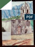 Cronologia de Santa Catarina Nuevo Leon