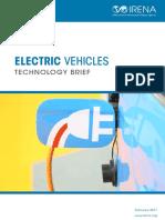 IRENA Electric Vehicles 2017