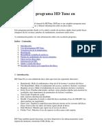 Manual Del Programa HD Tune en Español