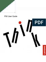 ThinkPad P50 User Guide