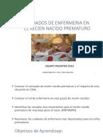 Cuidados de Enfermeria en El Recien Nacido Prematuro 2016