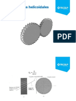 Cálculo Geometrico de Engranaje Helicoidal II